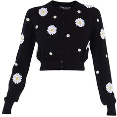 Dolce & Gabbana Sweaters (1,575 CAD) ❤ liked on Polyvore featuring tops, sweaters, black, dolce gabbana top, black sweater, dolce&gabbana, black top and dolce gabbana sweaters