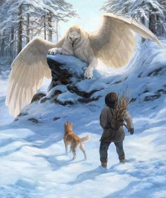 *gasp* It's a frost griffin! It just needs black stripes. (Elisabeth Wheatley)