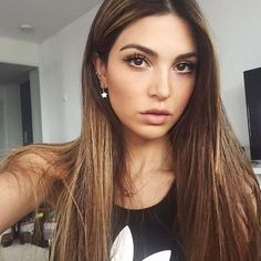 WEBSTA @ negin_mirsalehi - Straight hair after curly days. @gisou_official
