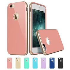 iPhone 6 Case, iPhone 6 Metal Frame, ESR Pink iPhone 6 Hybrid Aluminum Case Soft TPU Bumper [Scratch-Resistant][Shock Absorbent][Perfect Fit][Anti- TPU aging] Pink Back Bumper for 4.7 inches iPhone 6 Case [Free Gift: HD Clear Screen Protector] Iris Gold Pink by ESR ESR http://www.amazon.com/dp/B00V7JRDXK/ref=cm_sw_r_pi_dp_H4oJvb1ZPGKGT