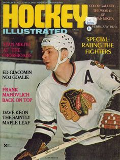 Vintage Hockey Illustrated magazine with Stan Mikita on the cover  ac47eb657