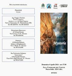 Mysteria: domenica 6 aprile la presentazione del libro di Maria Antonietta Feruglio