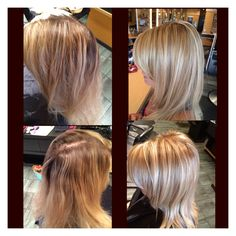 Wella colorid color ID adds dimension to your hair without foils here's a look at a dimensional blonde I did