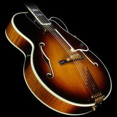 Used Gibson Custom Shop Lee Ritenour L5 Electric Guitar Antique Sunburst