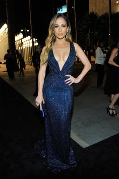 See Jennifer Lopez's look and others from the Gucci presented, LACMA Gala.