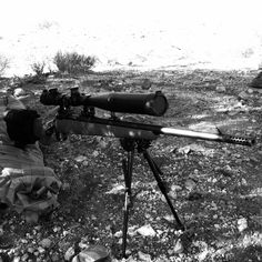 Savage Rifle in .308 Winchester with custom Muzzle Brake