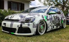 Large Pixel camo vinyl car wrapping film (11)