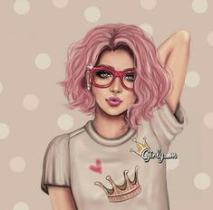 girly_m, pink, and drawing image