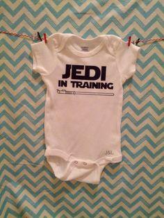 Jedi in Training - Baby Onesie