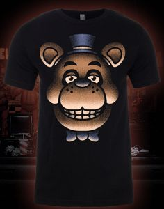 b36e73ca2a8 Glow-in-the-Dark Lights Out Freddy Shirt - Sanshee