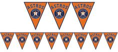 off Houston Astros party tableware! Find Houston Astros party supplies, Astros party favors, Astros decorations, Astros party invitations, and more baseball supplies. Baseball Birthday Party, 50th Party, 7th Birthday, Birthday Party Decorations, Birthday Parties, Astros Logo, Classroom Themes, Houston Astros, Party Time