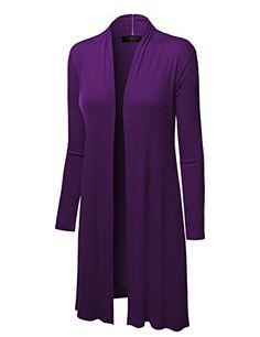 MBJ WSK1048 Womens Solid Long Sleeve Open Front Long Card... https://www.amazon.com/dp/B01BT39XSG/ref=cm_sw_r_pi_dp_x_64XCybEE3P8DE