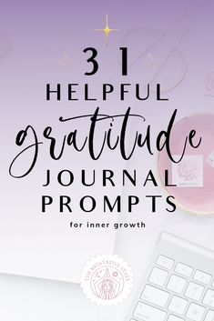 A quick and easy way to practice gratitude is to write down what we are grateful for in a journal. This practice alone allows us to spend time with ourselves and reflect on things in our life that we appreciate. Each day use one of these gratitude journal prompts to guide your writing. #Gratitude #Journal #GratitudeJournal #JournalPrompts #SelfCare #SelfLove Mental Health Journal, Mental Health And Wellbeing, Gratitude Journal Prompts, Practice Gratitude, Applied Psychology, Personal And Professional Development, Meditation Apps, Personal History, What Book