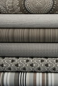 These indoor/outdoor fabrics scream strength and confidence