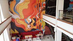 KFC Indonesia Mural | Kreavi.com