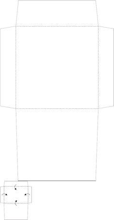 template square envelope 2017 envelope templates pinterest