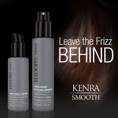 Have you had a chance to try our NEW Kenra Smooth® Anti-Frizz Creme and Styling Spray? These two new styling solutions are designed to reduce frizz for softer, more manageable results.
