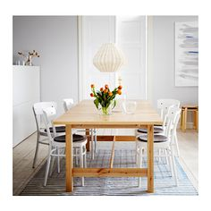 IDOLF Chair  - IKEA; general idea of what I want the dining room set to look like