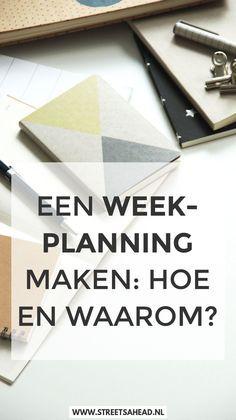 Lees waarom een weekplanning maken handig is en vind inspiratie voor hoe je je weekplanning maakt. Download ook gratis de handige checklist!