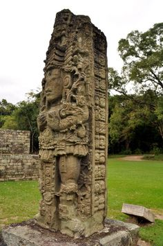 """Known for the sculptured """"Portrait Stelae"""" the Honduran Mayan ruins at Copan portray some of the finest examples of this Maya Mesoamerican art form. """"Temple 16"""" is the highest structure in this ancient Mayan temple archeological site  http://twitter.com/ChichenItzaBob"""