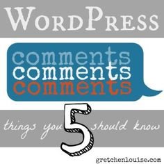Here are five things you should know about the native WordPress comment system (and why I love it better than any other) http://gretchenlouise.com/wordpress-comments/