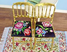 OOAK Barbie chair with petit point seat cushion Gold Acrylic Paint, Diorama Ideas, Plastic Doll, Recycled Denim, How To Make Pillows, Foam Cushions, Club Chairs, Cross Stitching, Fashion Dolls