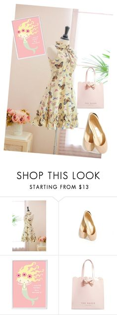 """""""dress"""" by masayuki4499 ❤ liked on Polyvore featuring A Little Lovely Company and Ted Baker"""