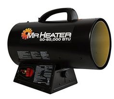 New Forced Air Propane Heater Construction Garage Cabin Workplace Free Shipping  #MrHeater