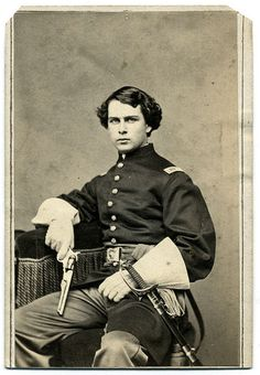 Union Officer Armed With Revolver by Ron Coddington, via Flickr