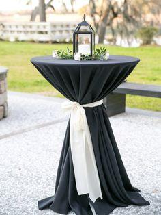 Black and White | Decoração de casamento em preto e branco | Revista iCasei