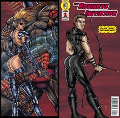 The Hawkeye Initiative: take the ridiculous poses that female super heroines get stuck with, and re-draw them with Hawkeye (or other male super heroes instead). Men, and even some women, don't realize how awfully sexist and absurd these poses are 'til they see a man doing the same thing. (And don't even get me STARTED on most female costumes!!)