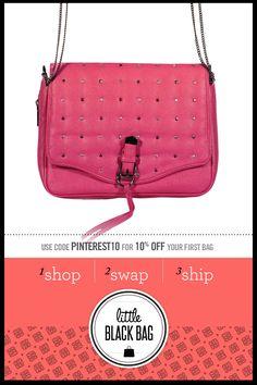 I love the R Quilted Bag from LittleBlackBag
