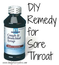 DIY Home Remedy for Sore Throat