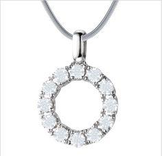 Collar de plata con diamante Collar de plata con diamantes al contorno del dije y la posibilidad de elección de las piedras como: rubí, turmalina rosa, topacio azul o blanco, zafiro azul. Quilate: 1.2 gr Corte: brillante Precio: 7,998.77 MXN