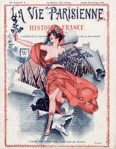 Hérouard 1916 Histoire de France, Marianne