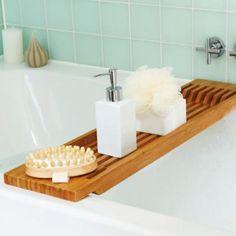 Pont de baignoire bois