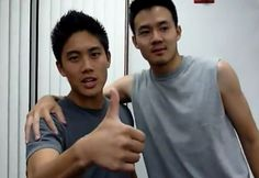 Ryan Higa and Philip Wang
