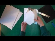 Tri-fold Card Tutorial (card-making-magic.com) 5 great ideas for trifold cards…