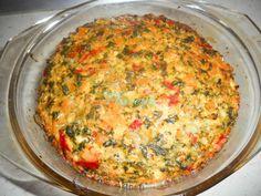 BUDINCA DE QUINOA CU SPANAC Quinoa, Couscous, Pesto, Broccoli, Macaroni And Cheese, Oven, Yummy Food, Healthy Recipes, Breakfast