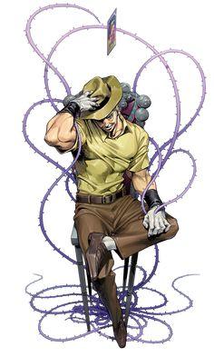 jojo only三部立绘。谢-トラララ! Jojo's Bizarre Adventure, Jojo's Adventure, Manga Anime, Manga Art, Anime Art, Jojo Stardust Crusaders, Jojo Stands, Joseph Joestar, Jojo Anime
