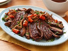 Slow Cooker Brisket with Brown Gravy Recipe : Sandra Lee : Food Network - FoodNetwork.com