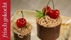Kastanien-Baiser-Torte (Eveline Wild) - YouTube Eveline Wild, Spaghetti, Fruit, Ethnic Recipes, Youtube, Cakes, Stone, Food, Pies