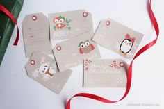 Cute Free Printable Christmas Gift Tags