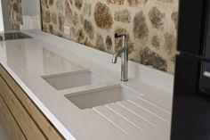 Plan de travail granit blanc | Cuisine | Pinterest | Granite