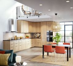 Implantation cuisine type idéal : tout sur les cuisine en L, U, I, parallèle, îlot... - Côté Maison