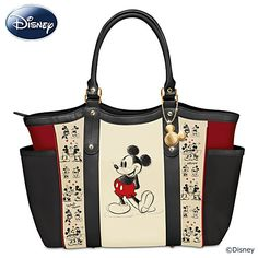 Mickey Mouse And Minnie Mouse Love Story Tote Bag