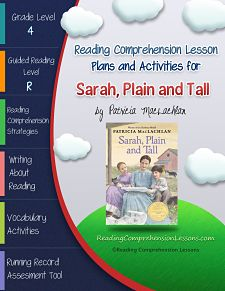 Use Sarah, Plain and Tall to Teach Readers How to Track Characters  This Book Club Bundle for Sarah, Plain and Tall is an excellent choice for 4th grade readers who are ready to begin using more sophisticated comprehension strategies. Get it on Teachers Pay Teachers for ONLY $5.50 http://www.teacherspayteachers.com/Product/Sarah-Plain-and-Tall-Lesson-Plan-Book-Club-Format-Tracking-Characters-939369