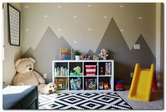 Simple Playroom Ideas for Kids (59)
