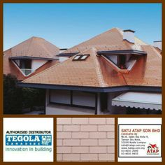 Tegola shingle Prestige Elite with great aesthetic value.100% from italy.  How complexity your design, tegola shingle roofing always gives 3 benefits. * Enhance beauty * Zero leaking with warranty. * Increase property value.  Dont worry, we are the experts  Contact us 03-40319455 (office hour) for further info. Or whatsapp 019-656 0961  www.1atap.com.my/tegola