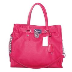 Michael Kors Hamilton Large Tote Red